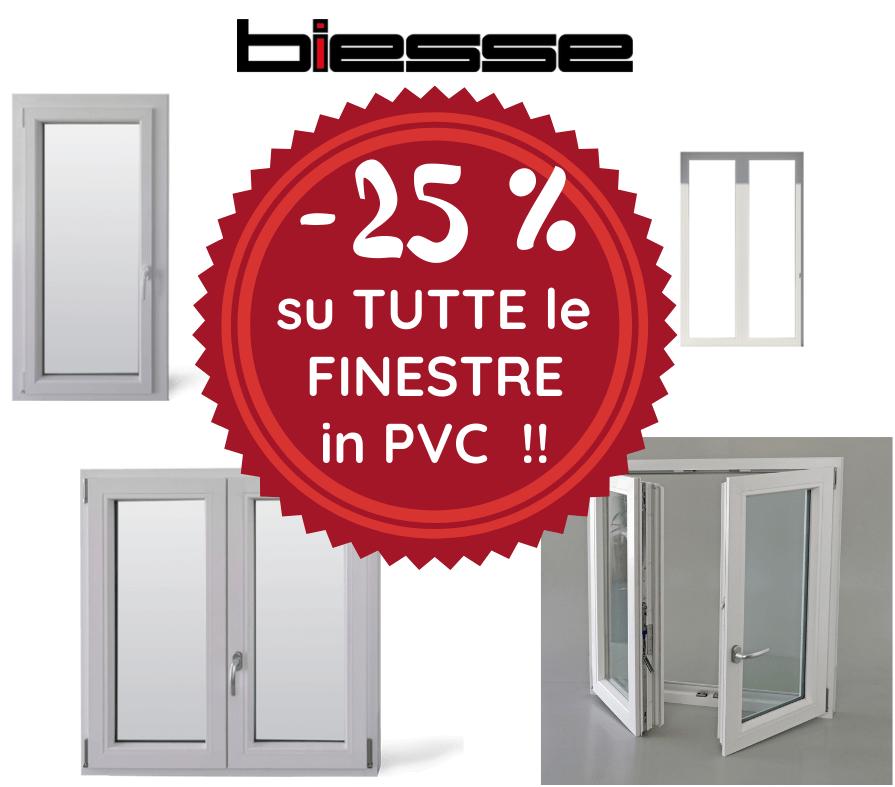INFISSI PVC SCONTO -25% !!